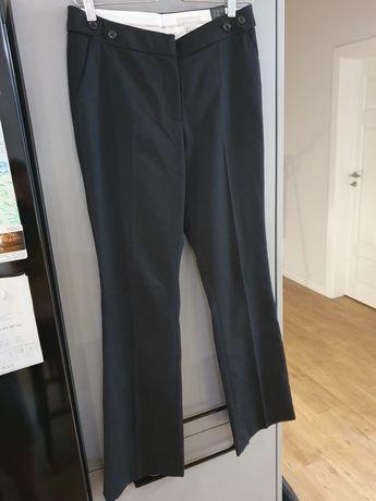 Klasyczne spodnie garniturowe H&M r. S