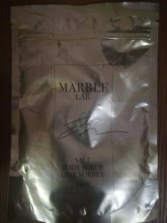 Скраб для тела «Лаймовый сорбет» (Marble Lab)