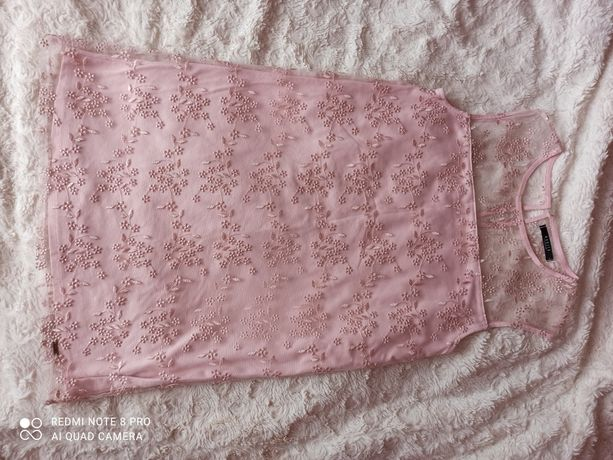 Sukienka (pudrowy róż) MOHITO