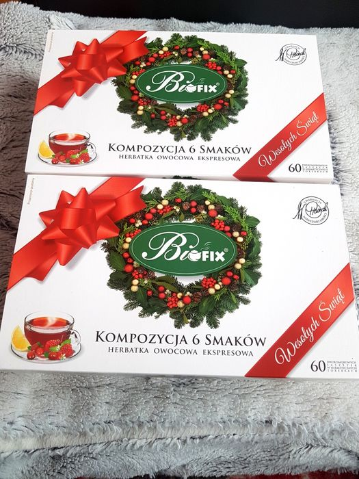 Zestaw herbat BIOFIX kompozycja 6 smaków Zambrów - image 1
