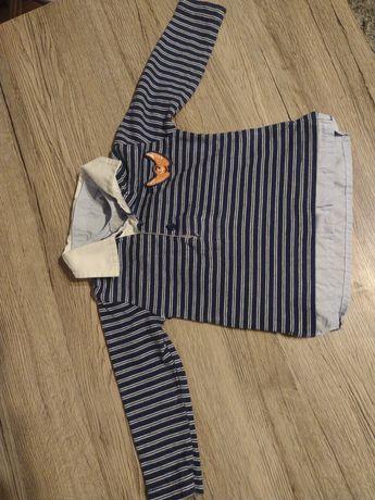 Elegancka koszulka chłopięca 74