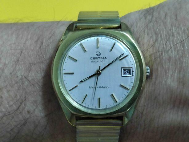 Relógio antigo CERTINA Blue Ribbon  automático