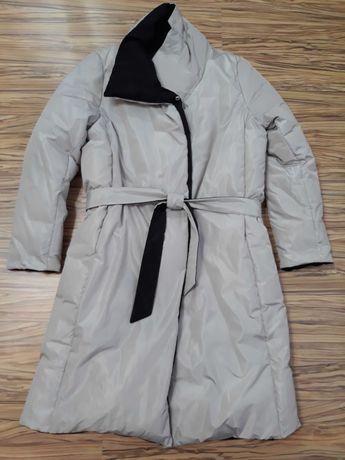 Пальто об'ємне демісезонне