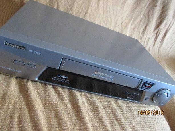 Video vhs Panasonic (para reparar ou peças)