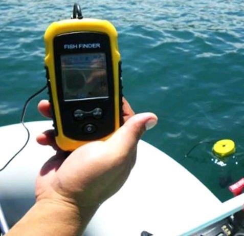 Aparelho para pesca / Detecta profundidade e localiza peixes (Novo)