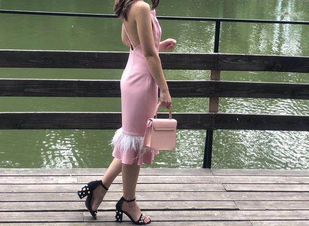 Плаття, платье розовое