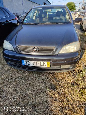 Peças Opel Astra 1.4i, frente completa, motor, caixa, airbags, porta