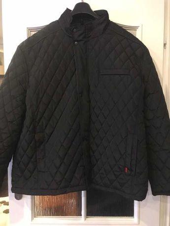 Nowa czarna kurtka pikowana męska 6XL