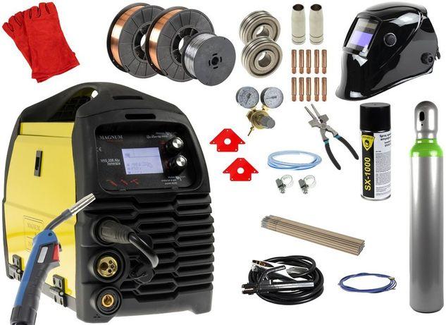 Spawarka Magnum MIG 208 Alu Synergia - zestaw akcesoriów