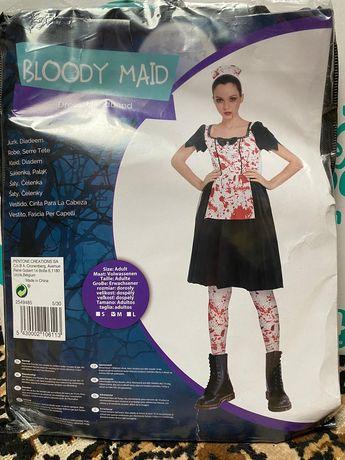 Kostium halloween krwawa pielęgniarka rozmiar M