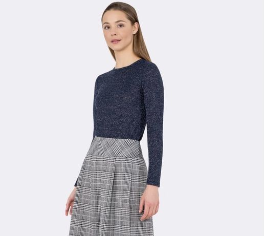 Valentino блестящий джемпер лонгслив оригинал пуловер