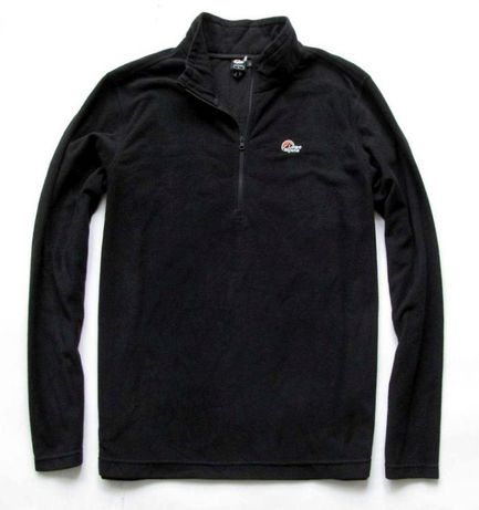 LOVE ALPINE * micro fleece * half zip * polar * L