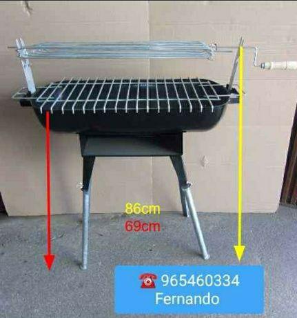 Fogareiro barbecue churrasqueira XXXL novo completo