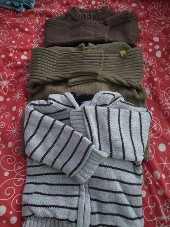 Bluzy/ swetry niemowlęce rozmiar 3-6 miesiecy