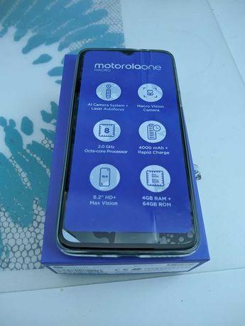 Motorola One Macro nowy zestaw komplet gwarancja