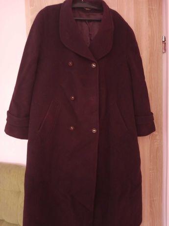 Płaszcz gruby wełniany