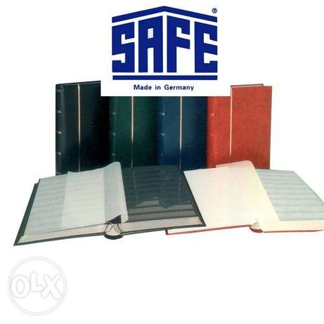 Альбом для марок - кляссер SAFE (ФРГ) 60 черных страниц, формат А4