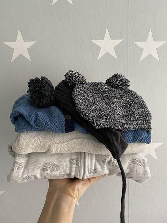 Paka nowych ubran zimowych H&M 62/68