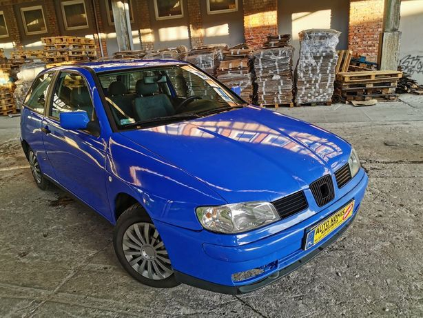 Seat Ibiza 1,4 LPG ekonomiczny klimatyzacja ZAMIANA