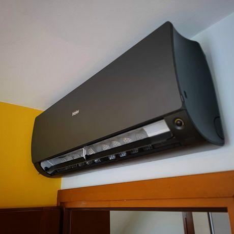 Klimatyzacja do domu Haier Flexis Plus Czarny Biały Silver montaż