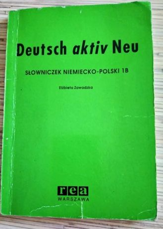 Deutsch aktiv NEU słowniczek niemiecko-polski 1B