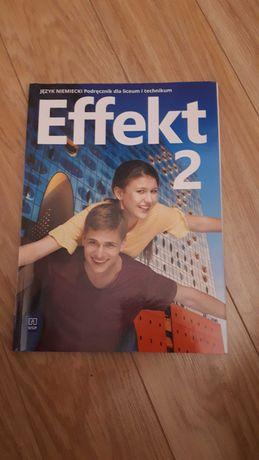 Podręcznik Effekt 2 język niemiecki dla liceum i technikum WSiP