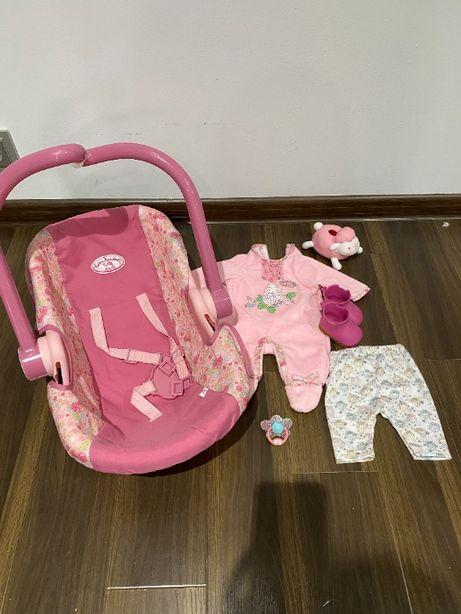 Ubranka buciki ,akcesoria Zapf Creation dla lalki Baby Annabell-zestaw