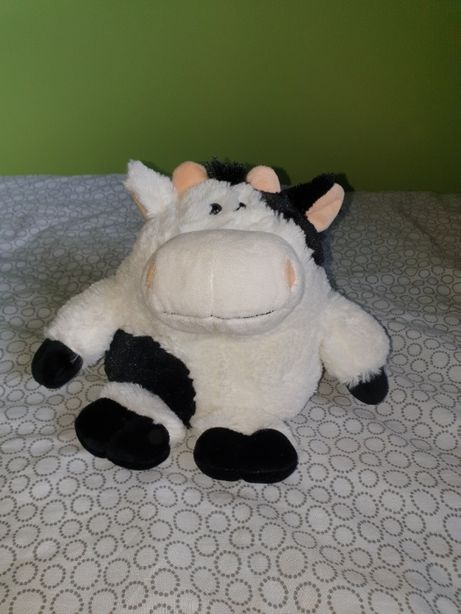 Maskotka pluszak przytulanka krowa krówka