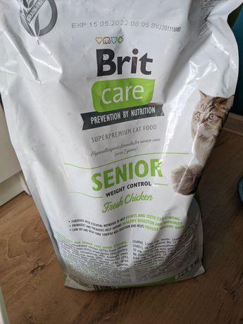 Karma dla kotów brit care senior