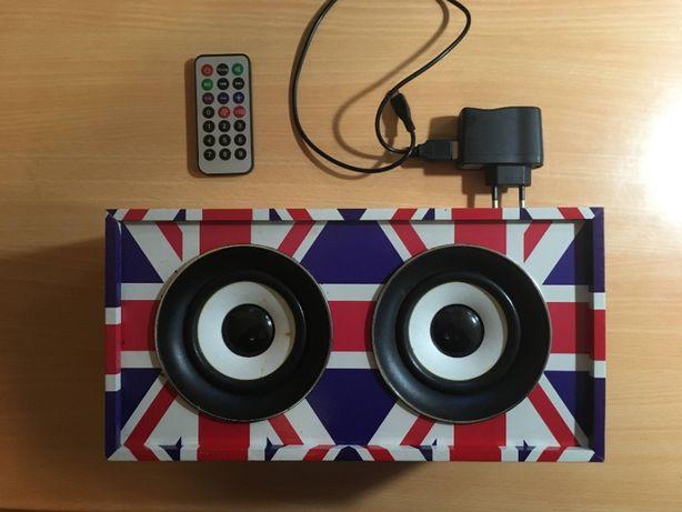 LTC Freesound UK Портативная акустика + SD Card 2 Gb