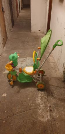 Żaba roweryk jeździk
