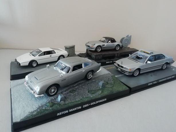 Miniaturas  série  007
