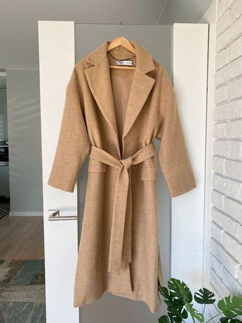 Шерстяне пальто ZARA. 100% шерсті. Лімітована колекція. M/L.