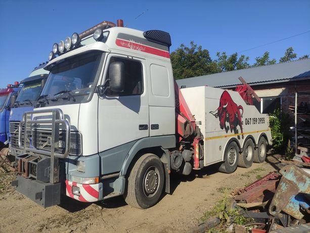 Тір евакуатор Volvo FH16 520 сил.