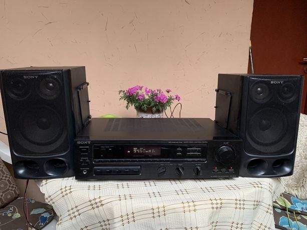 Amplituner Sony z kolumnami