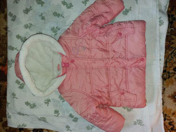 Курточка для девочки 9-24 мес.