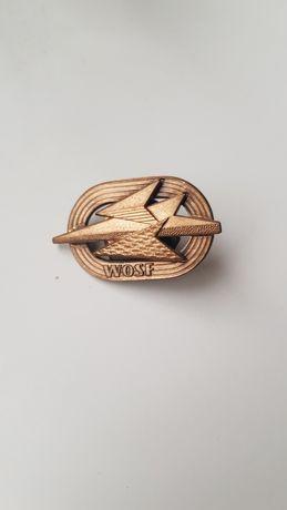 Wojskowa Odznaka Sprawności Fizycznej WOSF Brązowa LWP PRL