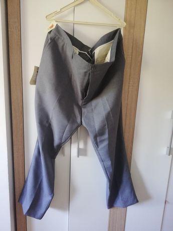 Spodnie męskie garniturowe 5XL
