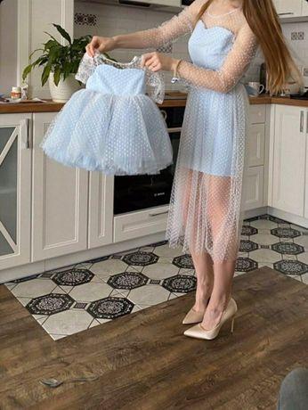 Family look, фэмели лук, наряды для мамы и дочки, фатиновые юбки