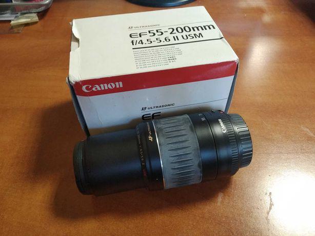 Obiektyw CANON EF 55-200MM F/4.5-5.6 II USM