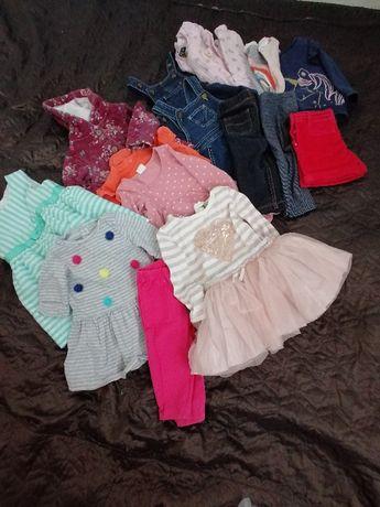 Одяг для дівчинки 6-9міс.