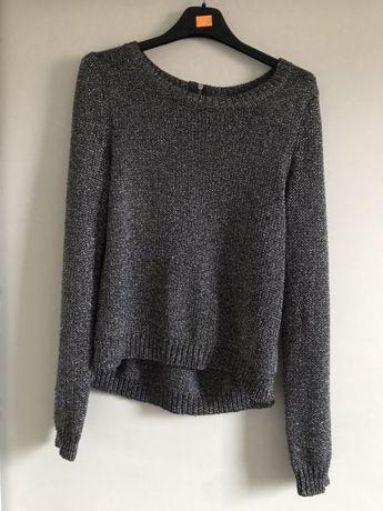 Sweter z połyskiem HM 34 XS jak nowy