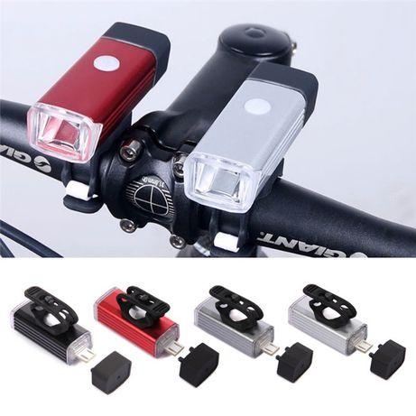 Продам! Велофара мощная аккумулятор, алюмин. корпус, USB, подсветка .
