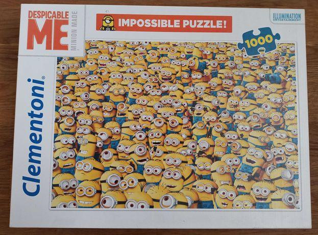 Puzzle Minionki 1000 Impossible Minionki