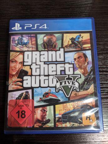 Диск игра  GTA V на Playstation 4