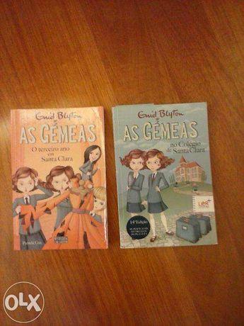 """Livros """"As gemeas"""""""