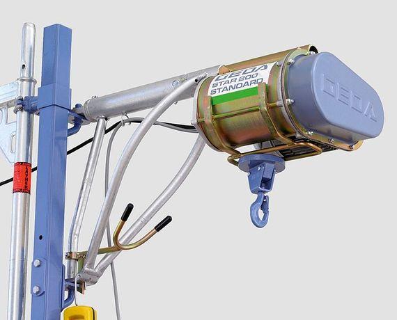 Wciągarka GEDA Star 200 Standard Lina L=25. Z dostępnymi akcesoriami