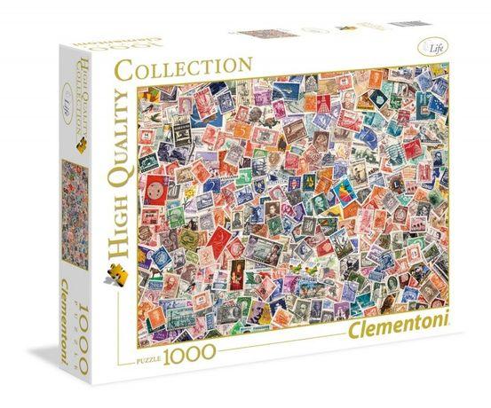 Puzzle 1000 elementów. Stamps