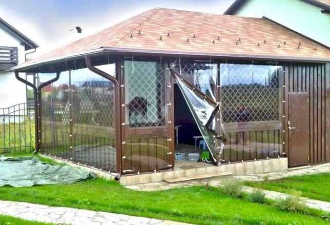М'які вікна, ПВХ штори для веранд, альтанок та терас.