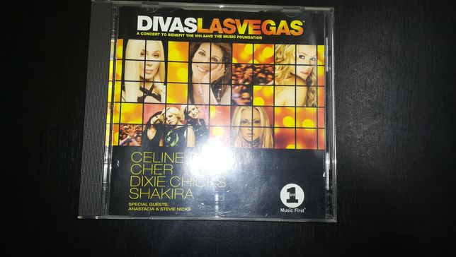 CD + DVD - Divas Las Vegas (Optimo Estado)